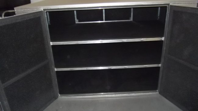 Pro Yamaha Golf Cars Aluminium Box with Shelves