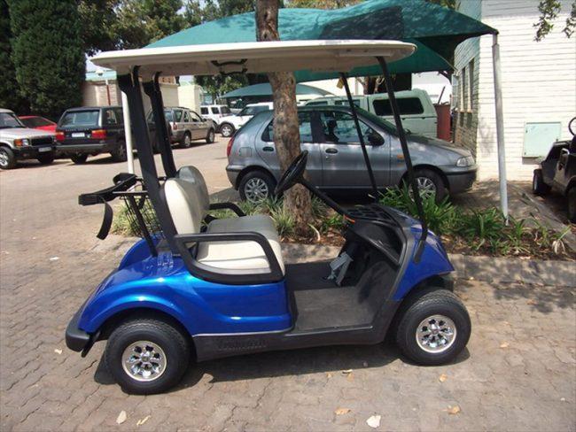 Pro Yamaha Golf Cars Blue