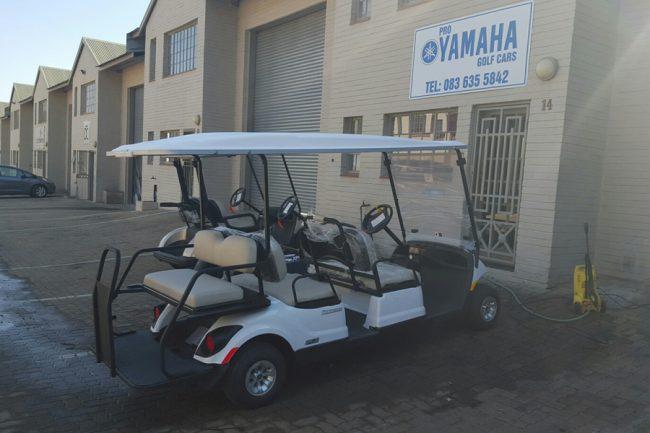 Golf Cars EFI six seater