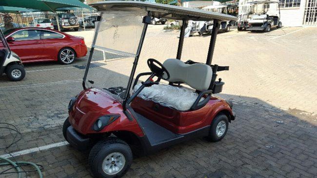 Pro Yamaha Golf Cars Red