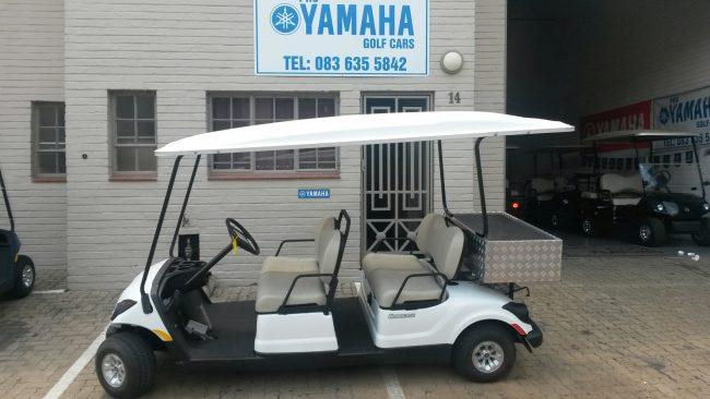 Golf Cars six seater with rear bin