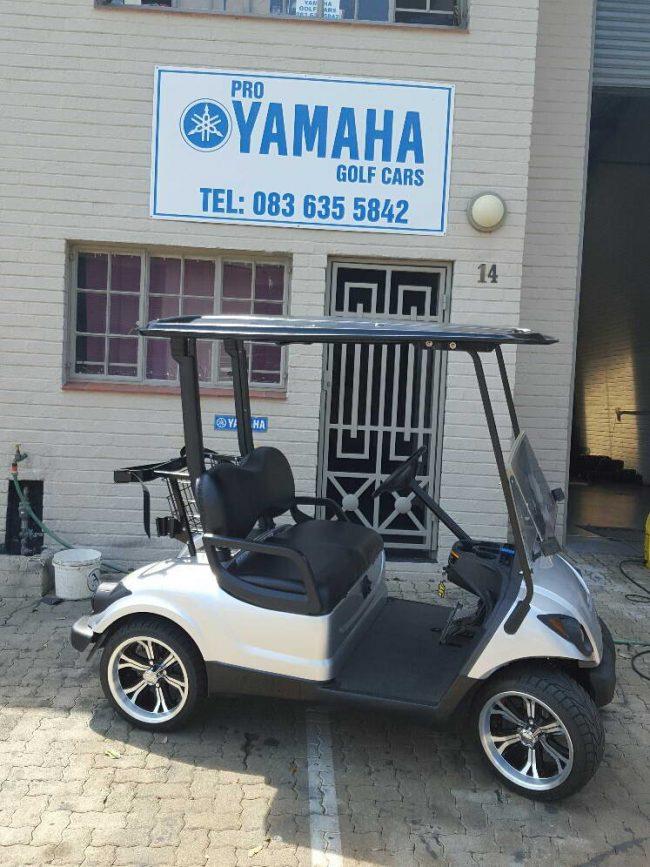 Pro Yamaha Golf Cars Silver